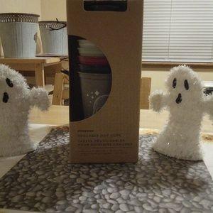New Starbucks Halloween Reusable Hot Cups NIB
